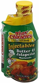 Tony Chacheres Creole Butter & Jalapeno Marinda(6x17 Oz)