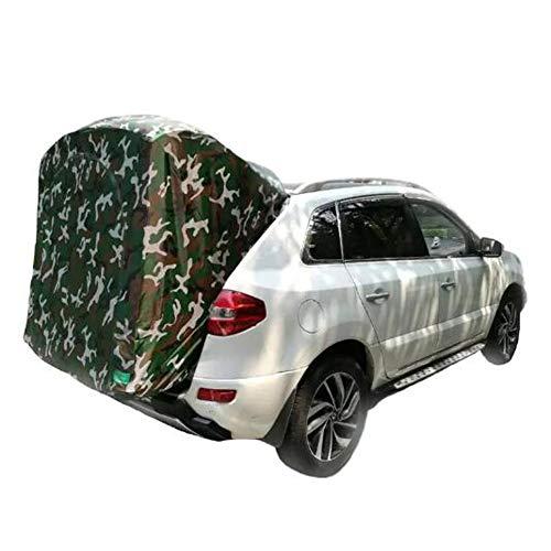 Dongbin Zelt Für 2 Personen, Fahrzeug/Auto Vorzelt, Freistehend Autozelt Kofferraum, Dreidimensional, Wasserdicht Und Feuchtigkeitsbeständig, Atmungsaktiv, Leicht Zu Tragen,Tarnen