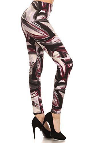 Leggings Depot Ultra Soft Plus Size Women's Printed Fashion Leggings