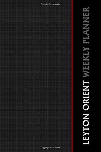 Leyton Orient Weekly Planner