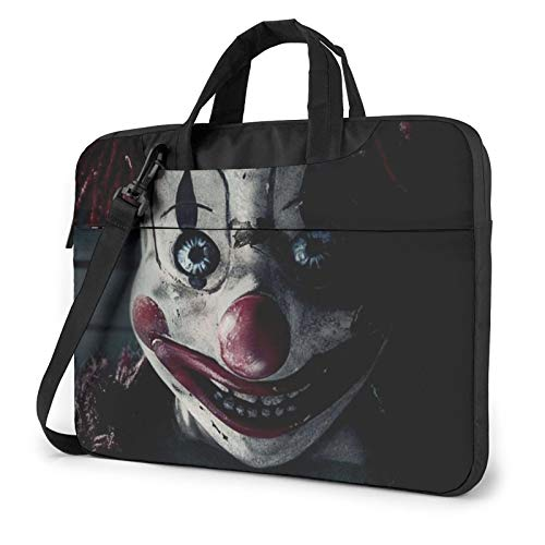 Stephen King's It Pennywise Laptop Sleeve Bag Case 14 inch MacBook Air Pro Notebook Sleeve Case Portable Briefcase Tote Cases
