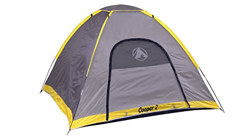 """Gigatent 2-3 Person Camping Tent – Spacious, Lightweight, Heavy Duty - Weather and Flame Resistant Outdoor Hiking Gear – Fast and Easy Set-Up – 7'x7' Floor, 51"""" Peak Height"""