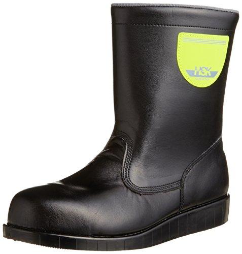 [ノサックス] 安全靴 舗装靴 HSK半長靴 道路舗装用 HSK208 メンズ 黒 25cm(25cm)