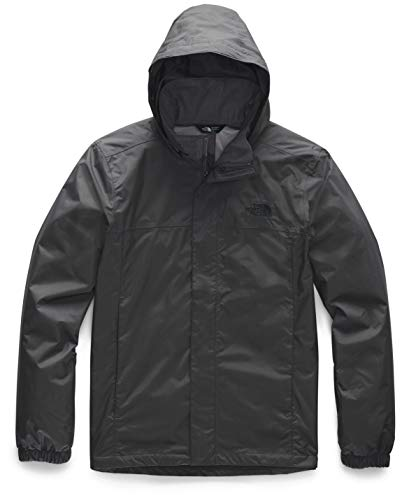 The North Face Men's Resolve Jacket, Asphalt Grey/TNF Black, Large
