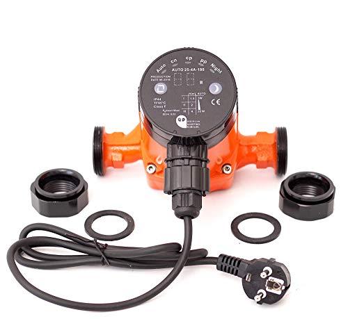 Heizungspumpe Umwälzpumpe Hocheffizienzpumpe Klasse A SK Auto 25-4A/180 (180 mm = Einbauhöhe) Förderhöhe 4m