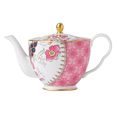 Wedgwood Harlequin Butterfly Bloom Ceramic Teapot