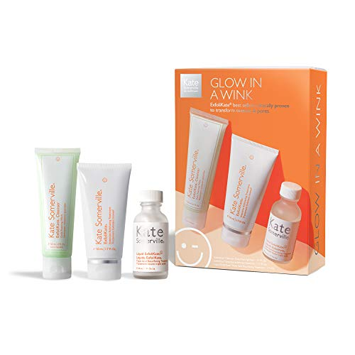 Kate Somerville Glow In A Wink- 3-Piece Kit- Includes Travel Size...