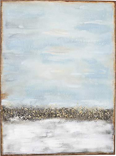 KARE Cuadro al óleo Abstract Horizon, 120 x 90 cm, marrón, talla única