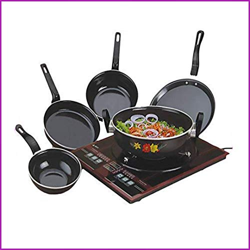 kitchentop Perfect Collections Set of 5 Pcs Bottom Cookware Set (Non-Stick), 5...