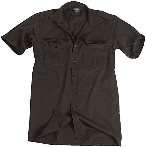Chemise de service manches courtes noir - XL