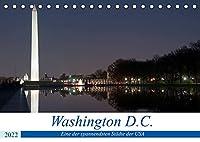 Washington D.C. (Tischkalender 2022 DIN A5 quer): Eine der spannendsten Staedte der USA (Monatskalender, 14 Seiten )