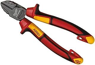 Milwaukee 932464566 VDE Diagonal Cutter 145mm, Red
