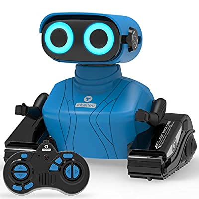 REMOKING RC Robot Toy, Educational Learning 2.4Ghz Remote Control Robot Toy, Interactive Novelty Design Robot Toy, Dancing, Walking, Great Gifts for Kids Boys Girls