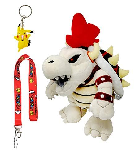 Little Buddy Best Super Mario Dry Bowser Plush Toy Bundle, 13'