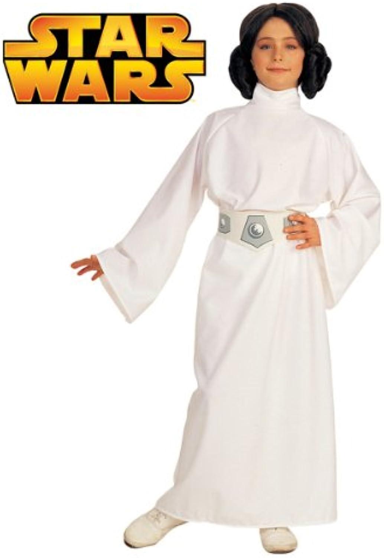 Star Wars Deluxe Kinder Kostüm Prinzessin Leia Gre M 5 bis 7 Jahre