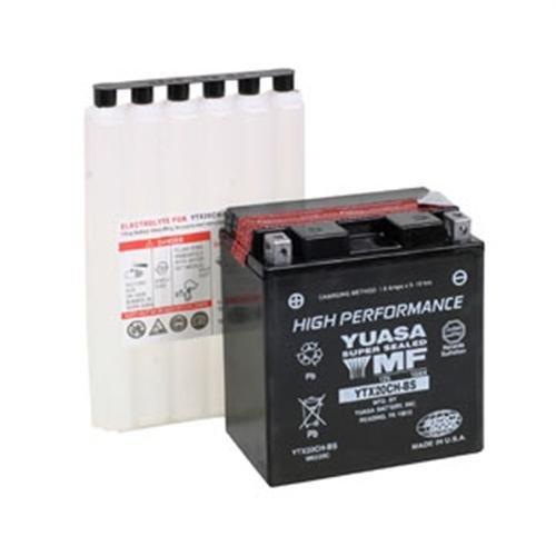 Yuasa Battery YTX16-BS Maintenance Free Battery (ea) for 2004-2012 Kawasaki VN2000-A/D/E/F Vulcan (YTX16-BS)