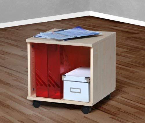 Möbeldesign Team 2000 Rollcontainer Bürocontainer Nachtschrank ahorn -6