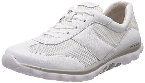 Gabor Shoes Damen Rollingsoft Derbys, Weiß (Weiss), 37 EU