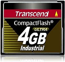 Transcend TS4GCF100I 4GB Industrial Compact Flash Card