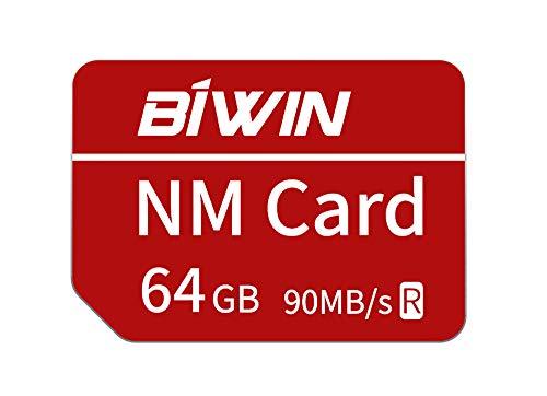 Huawei NanoMemory Memory Card 64GB NM Card NM-Speicherkarte, bis zu 90 MB/s, kompatibel mit Huawei P30 / P30 Pro/Mate X/Mate Xs