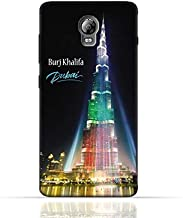 Lenovo Vibe P1 TPU Silicone Case with Burj Khalifa Illuminated with UAE Flag Colors - Dubai Design