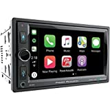 Power Acoustik Stereos - POWER ACOUSTIK CP-650 Double DIN Bluetooth in-Dash Digital Media Car Stereo Receiver with Touchscreen, Apple CarPlay, 6.5
