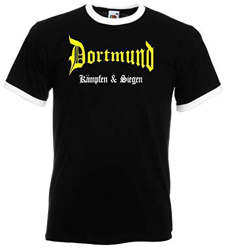 Dortmund Ultras Kämpfen & Siegen Retro T-Shirt