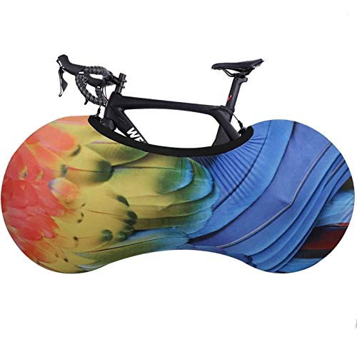 Anti-dust Indoor Bike Storage Bag, Bicycle Wheel Cover,Washable Elastic Bicycle Scratch-Proof Protective Gear Tire Package for MTB Road Bike (Color : Color B)