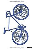 Notizbuch: Fahrrad   lustig (liniert   100 Seiten)