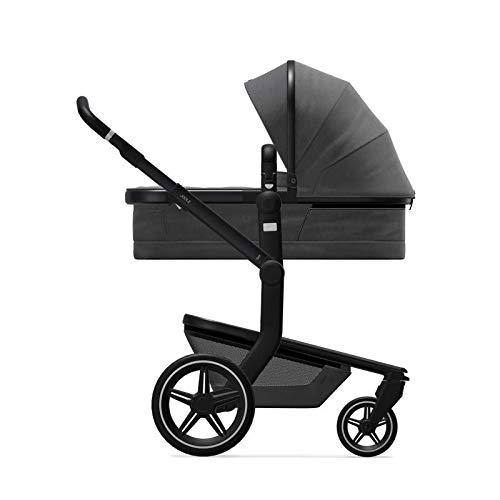 Joolz Day+ - Cochecito 3 en 1 - Cochecito para bebé a niño - Diseño inteligente - Fácil de usar con una sola mano - Paseo más cómodo - Luces integradas - Impresionante antracita