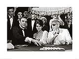 1art1 James Bond 007 - Feuerball Casino Poster Kunstdruck