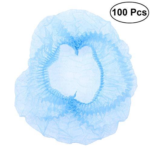 Polvere medicale HEALLILY monouso non tessuta chirurgica dei capelli delle protezioni della rete anti polvere 100pcs