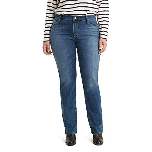 Levi's Women's Plus-Size 414 Classic Straight Jeans