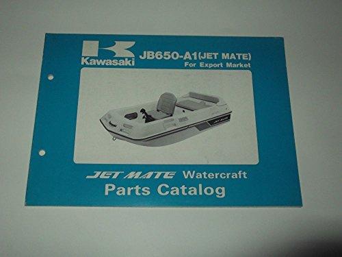 Partes catalog Kawasaki Jet Mate Watercraft JB 650-A1 (Jet Mate) 1989