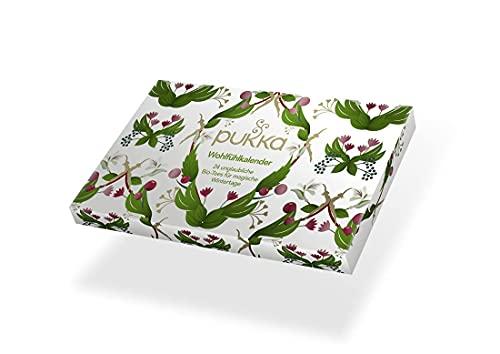 Pukka BIO Tee Wohlfühl- und Adventskalender 2021 (mit 24 Bio-Tees nach Ayurveda Tradition) für Teeliebhaber