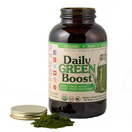 Daily Green Boost 8oz Organic Raw Vegan GF USA