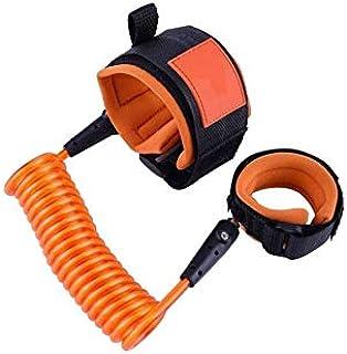 SEEBABY Baby Kids Safety Anti Lost Wrist Link Rope Walking Hand Belt Orange Color