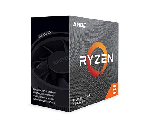 AMD Ryzen 5 3600 6-Core, 12-Thread Unlocked Desktop Processor with Wraith Stealth...