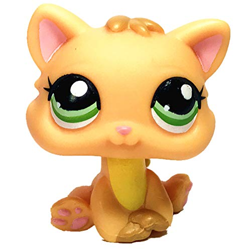Greneric Short Hair Cat, Rare LPS Toy Sparkle Action Figures Kids Toy Gift Littlest Pet Shop