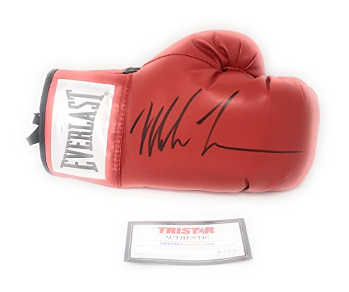 Mike Tyson Signed Autograph Boxing Glove Black Ink Tristar Authentic Certified