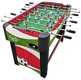 Piarner 8 Pintado Postes Personalizada Tabla Juguetes de fútbol Juego de Mesa interacción Padre-Hijo de Foosball niños de la máquina multijugador Mesa de futbolín en Conjunto