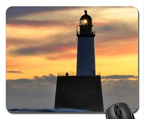 wunderbare Meer Leuchtturm Mauspad, Mousepad (Leuchttürme Mauspad)