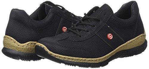 Rieker Damen Sneaker, (schwarz/fumo) - 6