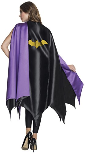 Rubie's Women's DC Superheroes Deluxe Batgirl Cape, Multi, One Size