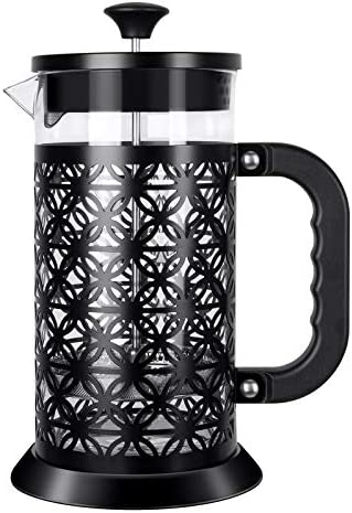 IREENUO French Press Coffee Maker Coffee Press With Strong Filtration Heat Resistant Borosilicate product image