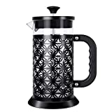 IREENUO French Press Coffee Maker Coffee Press With Strong Filtration - Heat Resistant Borosilicate...