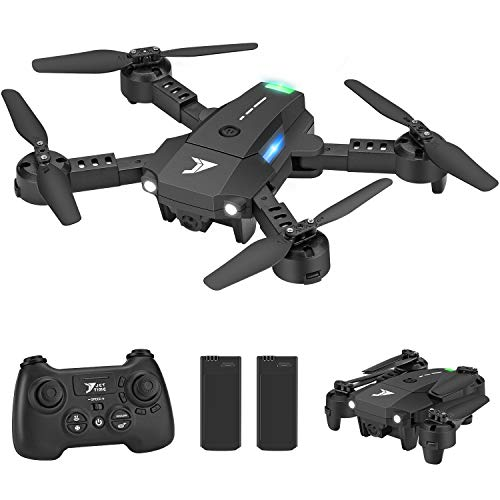 Jettime JT63 Mini Foldable Drones for Kids and Beginners with Altitude Hold, 3D Flips and Rolls, One Key Take Off, Headless Mode