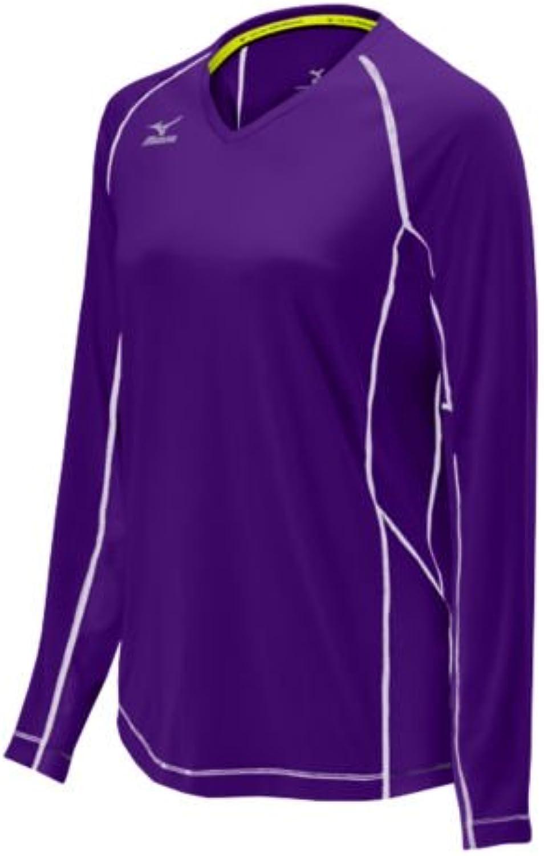 Mizuno Elite 9 Newport Long Sleeve Jersey, lila, XX-Large