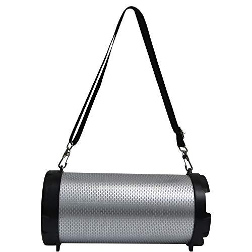 AKAI AKBT110 Bazooka Bluetooth Lautsprecher mit LED-Leuchten, Sound, kabellos, 5 W
