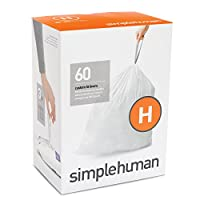 simplehuman コードH パーフェクトフィット ゴミ袋 30-35L / 60袋 CW0258